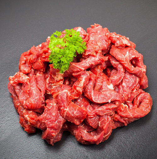 tender beef strips